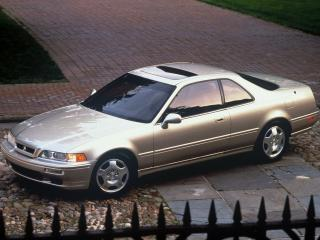 обои Acura Legend Coupe 1990 сбоку фото