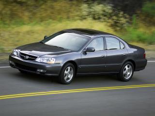 обои Acura TL 2002 дорога фото