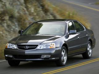 обои Acura TL 2002 капот фото