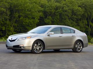 обои Acura TL SH-AWD 2008 бок фото