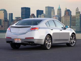 обои Acura TL SH-AWD 2008 задочек фото