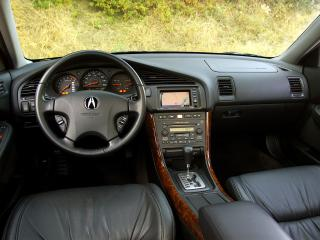 обои Acura TL 2002 руль фото
