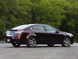 обои Acura TL SH-AWD 2008 красивая фото