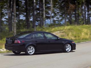 обои Acura TL 2007 бок фото