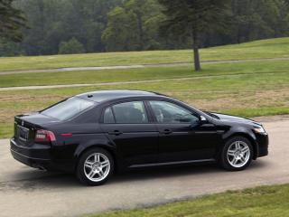 обои Acura TL 2007 дорога фото