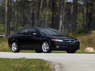 обои Acura TL 2007 обочина фото