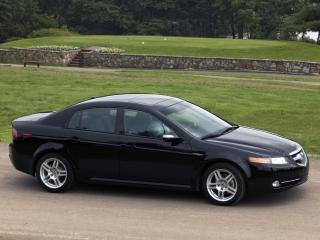 обои Acura TL 2007 сбоку фото