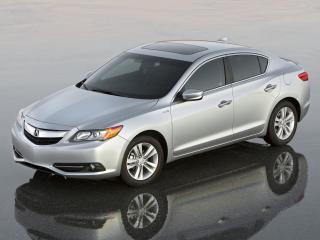 обои Acura ILX Hybrid 2012 капот фото