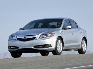 обои Acura ILX Hybrid 2012 на дороге фото