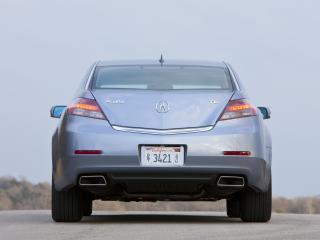 обои Acura TL 2011 зад фото