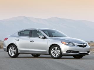 обои Acura ILX Hybrid 2012 сбоку фото