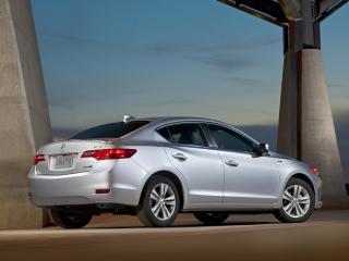 обои Acura ILX Hybrid 2012 столбы фото