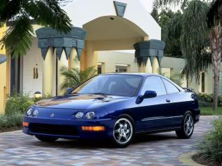 обои Acura Integra GS-R Coupe 1998 перед фото