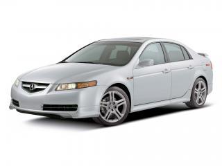обои Acura TL A-Spec 2004 белая фото