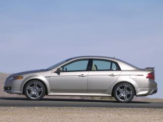 обои Acura TL A-Spec 2004 бок фото