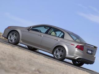 обои Acura TL A-Spec 2004 вверх фото