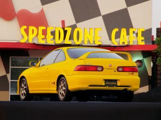 обои Acura Integra Type R 1998 зад фото