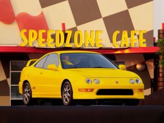 обои Acura Integra Type R 1998 перед фото