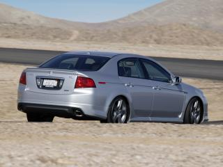 обои Acura TL A-Spec 2004 задочек фото