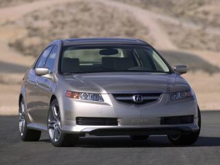 обои Acura TL A-Spec 2004 капот фото