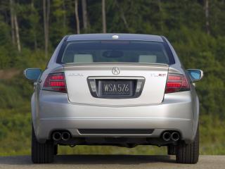 обои Acura TL Type-S 2007 зад фото