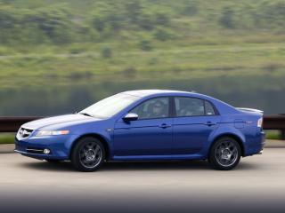 обои Acura TL Type-S 2007 мчиться фото