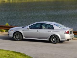 обои Acura TL Type-S 2007 обочина фото