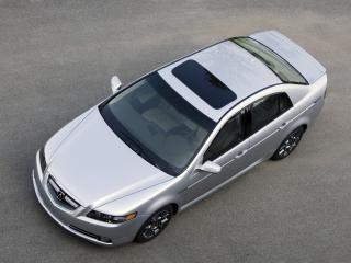 обои Acura TL Type-S 2007 сверху фото