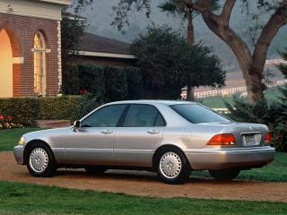 обои Acura 3.5RL (KA9) 1996 сбоку фото