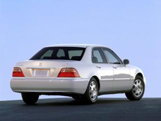 обои Acura 3.5RL (KA9) 1999 белая фото