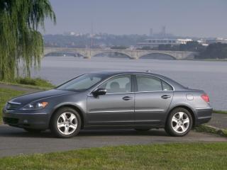 обои Acura RL 2004 мост фото
