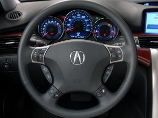 обои Acura RL 2004 руль фото