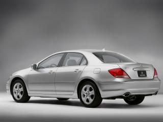 обои Acura RL 2004 серебро фото