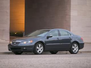 обои Acura RL 2004 стена фото