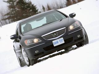обои Acura RL 2004 фары фото