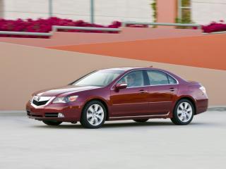 обои Acura RL 2008 бок фото