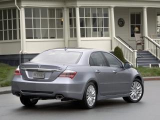 обои Acura RL 2010 зад фото