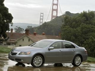 обои Acura RL 2010 мост фото