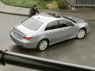 обои Acura RL 2010 сверху фото