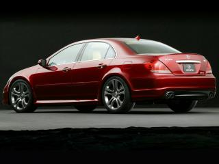 обои Acura RL A-Spec Concept 2005 бок фото