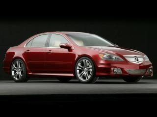 обои Acura RL A-Spec Concept 2005 сбоку фото