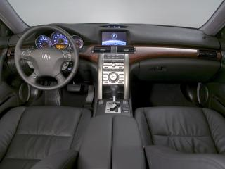 обои Acura RL Prototype 2004 руль фото