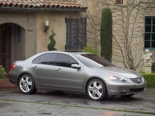 обои Acura RL Prototype 2004 у дома фото