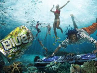обои Вечеринка под водой фото