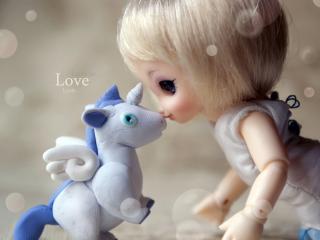 обои Кукла и игрушка фото