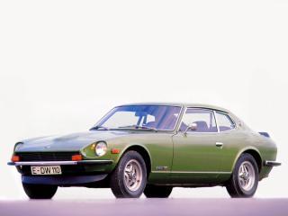 обои Datsun 260Z 2by2 (RGS30) 1974 зеленая фото