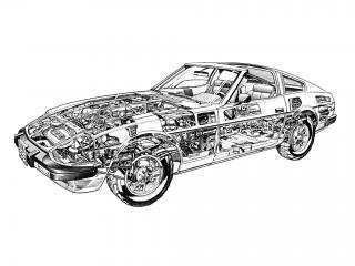 обои Datsun 280ZX (S130) 1978 схема фото