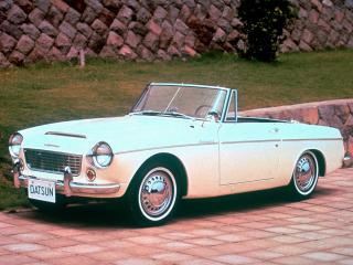 обои Datsun Fairlady 1500 (SP310) 1962 бок фото