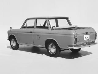 обои Datsun Pickup Double Seat (U520) 1965 зад фото