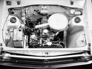 обои Datsun Sunny Truck (B120) 1971 мотор фото